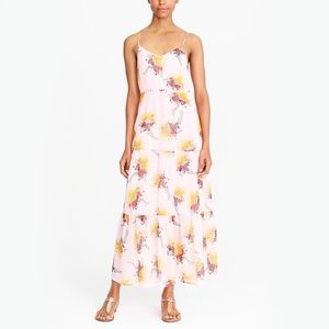 NEW J.CREW MERCANTILE TIERED MAXI DRESS BOUQUET